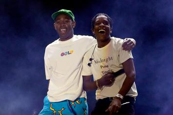 Tyler, The Creator Trolls A$AP Rocky In Studio After Release From Swedish Prison