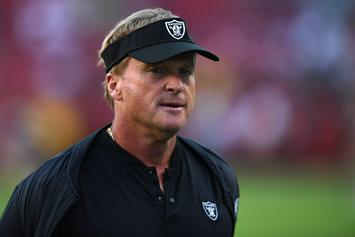 "Jon Gruden Elicits Fear In ""Hard Knocks"" Premiere: ""I'm Into F---ing Nightmares"""