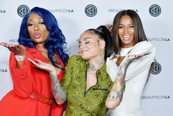 Megan Thee Stallion, Ciara & Kehlani Take Over Beautycon 2019 By Forming Trio
