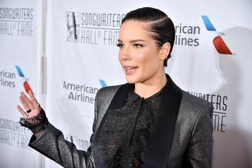 """Halsey Defends Miley Cyrus From Troll Who Says """"You Shouldn't Date Bi People"""""""