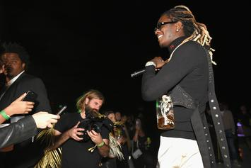 """Young Thug Has """"So Much Fun"""" Shooting Waterguns On Music Video Set"""