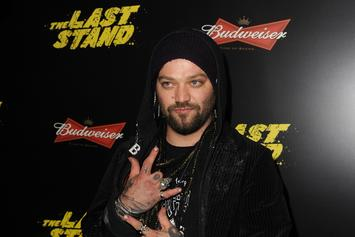 """Bam Margera """"Pays Respects"""" To Dr. Phil With Neck Tattoo Of Talk Show Host's Name"""