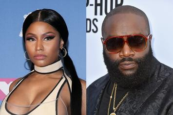 "Nicki Minaj Puts Rick Ross On Blast: ""Sit Your Fat Ass Down"""