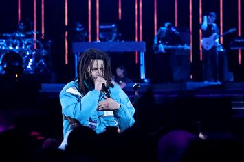 J.Cole Hits Straight Daggers During Three-Point Training: Watch