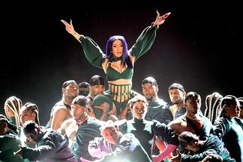 """Cardi B Taught Her """"Hustlers"""" Costar How To Give A Lap Dance"""
