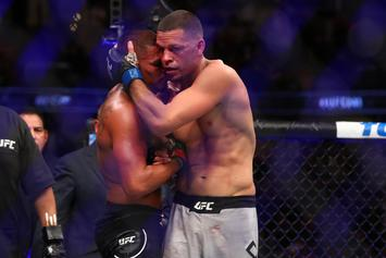 Nate Diaz Calls Out Jorge Masvidal After Dominating Anthony Pettis At UFC 241