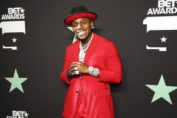 DaBaby Gifts Fan Autographed Shoes & Wins Over Fan's Mother