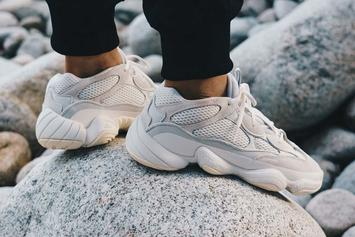 """Adidas Yeezy 500 """"Bone White"""" Drops This Week: Official Details"""