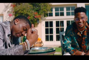 "YFN Lucci & Trey Songz Kick It Poolside With The Ladies In ""All Night Long"" Video"