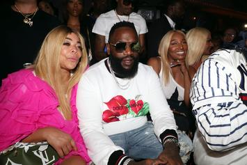 Rick Ross Parties With Wendy Williams & NeNe Leakes After They Squash Beef