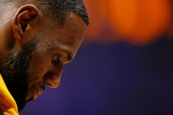 """LeBron James Embraces """"Washed King"""" Nickname In New Workout Video"""