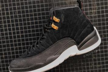 "Air Jordan 12 ""Reverse Taxi"" Slated To Release This Fall: In-Hand Look"