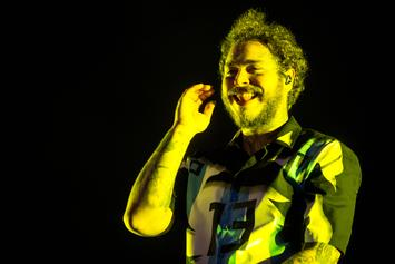 "Post Malone Reveals Album Cover For ""Hollywood's Bleeding"""