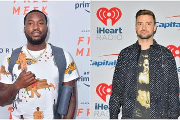 Meek Mill & Justin Timberlake Spotted Together In The Studio