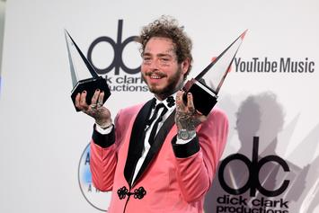 """Post Malone """"Hollywood's Bleeding"""" Features Travis Scott, Lil Baby, SZA & More"""