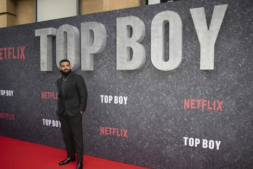 "Drake Delivers Heartfelt Speech At Netflix ""Top Boy"" Premiere In London"