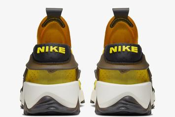 "Nike Adapt Huarache ""Opti Yellow"" Official Photos Unveiled: Release Details"