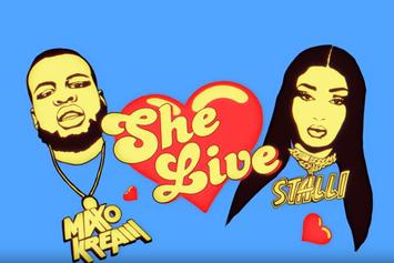 "Maxo Kream & Megan Thee Stallion Pay Homage To Dating Reality Shows In ""She Live"" Visual"