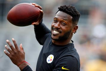 """Antonio Brown Denies Allegations, Agent Says: """"This Is A Money Grab"""""""