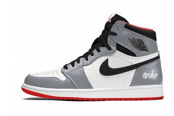 """Air Jordan 1 High OG """"Particle Grey"""" Rumored For Next Year: First Look"""