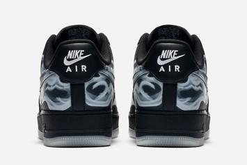 "Nike Air Force 1 Low ""Black Skeleton"" Officially Unveiled: Best Look Yet"