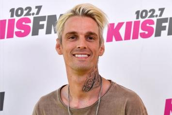 """Aaron Carter Feels Bad About His Recent Antics, Asks Public To """"Leave Me Alone"""""""