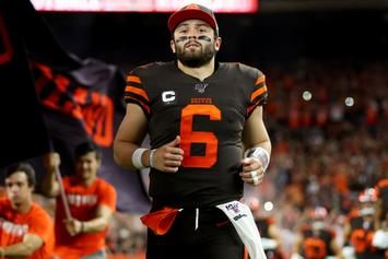 """Baker Mayfield Claps Back At Rex Ryan After Viral """"Overrated"""" Comments"""