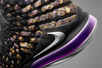 """Nike LeBron 17 """"Lakers"""" Release Date Officially Revealed: Detailed Photos"""