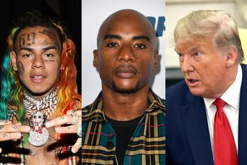 Charlamagne Tha God Drags 6ix9ine Into Trump Impeachment With Snitch Meme