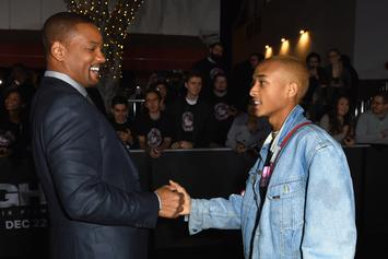"""Jaden Smith Celebrates Will Smith's 51st B-Day With """"Fresh Prince"""" Sing-A-Long In Philly"""