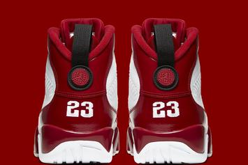 """Air Jordan 9 """"Gym Red"""" Channels The Chicago Bulls: Official Photos"""