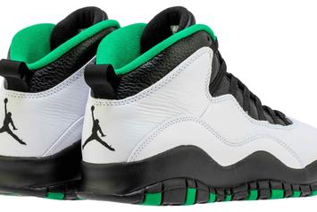 "Air Jordan 10 ""Seattle"" Release Date Confirmed: Beauty Shots Revealed"
