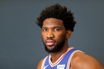 Joel Embiid Shows Off New Hairstyle At Sixers Camp, NBA Twitter Reacts