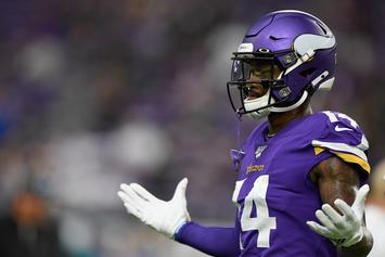 Vikings WR Stefon Diggs Misses Practice And Sparks Trade Rumors