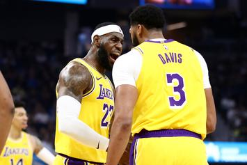 LeBron James Showers AD With Praise Following First Lakers Game