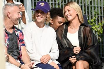 Justin And Hailey Bieber Pose For Calvin Klein's 50th Anniversary