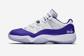 "Air Jordan 11 Low ""Concord"" Releasing With A Unique Twist"