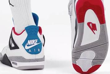 "Air Jordan 4 ""What The"" Unveiled Through New Product Video: Watch"