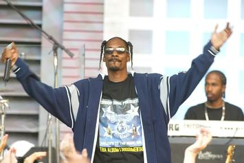 "Snoop Dogg Revisits ""Up In Smoke"" Tour With Eminem, Dr. Dre & Ice Cube For #TBT"
