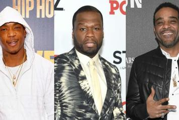 50 Cent Pretends To Be Afraid Of Ja Rule, Jim Jones, & Freekey Zekey In IG Video