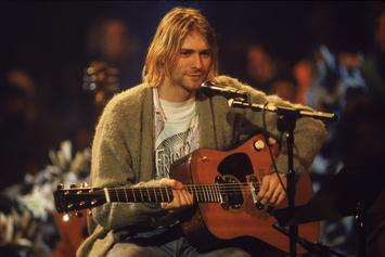 """Kurt Cobain's Iconic Sweater From """"Unplugged"""" Performance Hits Auction"""