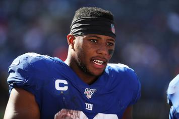 Saquon Barkley Posts Hype Video, Hints At Return In Week 7