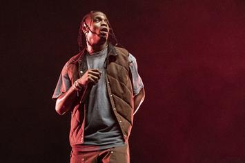 Travis Scott Limps His Way Out Of WeHo Nightclub Following Dislocated Knee