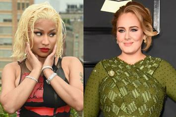 Nicki Minaj Hypes Up & Then Shuts Down Adele Collaboration