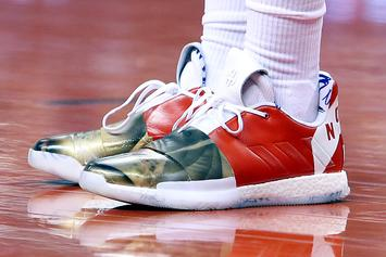 """Kyle Lowry's Custom """"North Philly"""" Ring Night Sneakers Revealed In Detail"""