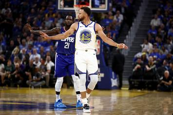 Steph Curry Had The Perfect Comeback To Patrick Beverley's Trash Talk