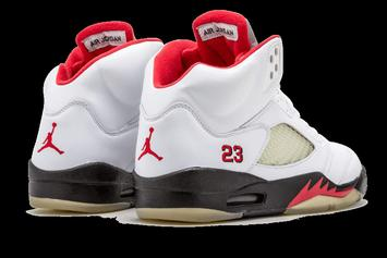 "Air Jordan 5 ""Fire Red"" Returning To Retailers In 2020: Release Details"