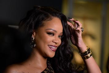 Rihanna Cuddles Up To Newborn In Sweet Pics Following Pregnancy Reports