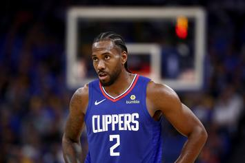 """Clippers Fined $50K For """"Inconsistent"""" Statements On Kawhi Leonard's Health Status"""