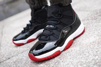 "Air Jordan 11 ""Bred"" Release Date Officially Confirmed: Detailed Look"